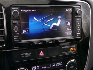Mitsubishi Outlander 2014 монитор