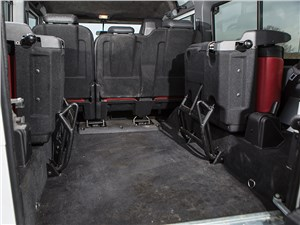 Land Rover Defender 110 2012 багажное отделение
