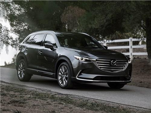 Mazda CX-9 2016 вид спереди сбоку