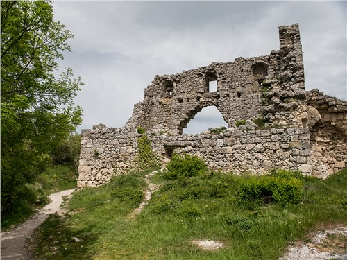 Мангуп-Кале ранее являлся мощным оборонительным укреплением