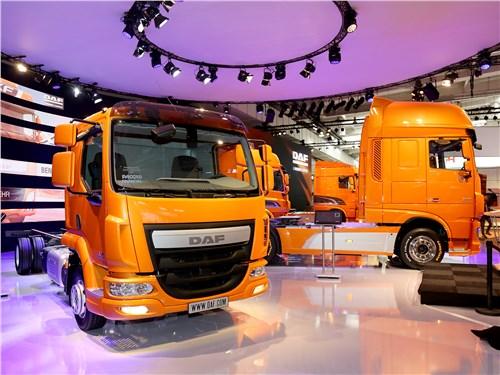 Компания DAF продемонстрировала новую систему управления автопарком Connect