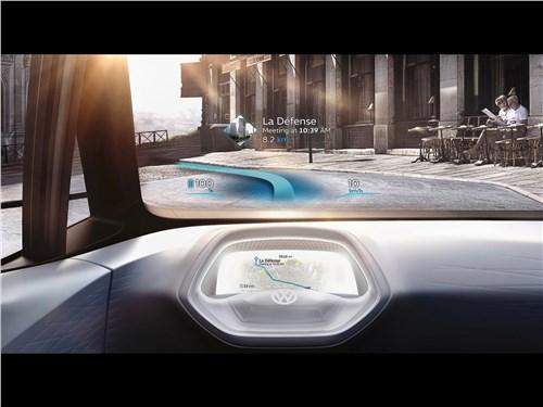 Предпросмотр volkswagen i.d. concept 2016 лобовое стекло