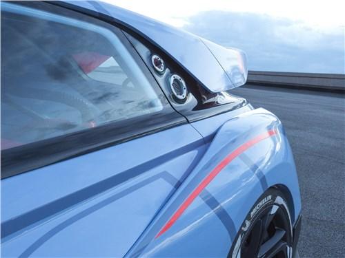 Предпросмотр hyundai rn30 concept 2016 заднее крыло