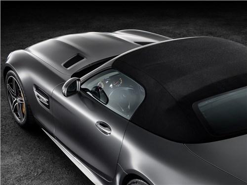 Предпросмотр mercedes-amg gt c roadster 2017 вид сверху сзади