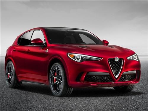 Новый Alfa Romeo Stelvio - Alfa Romeo Stelvio 2017 На повышение