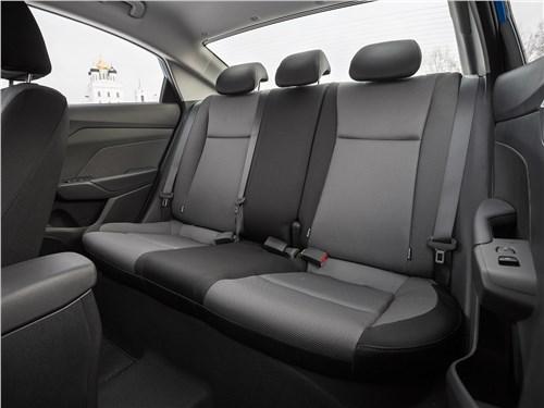 Hyundai Solaris 2017 задний диван