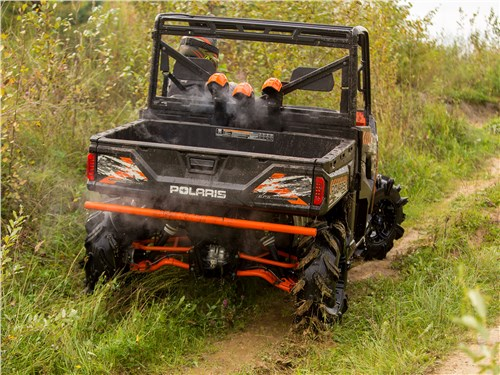 Polaris Ranger XP 900 EPS High Lifter Edition вид сзади