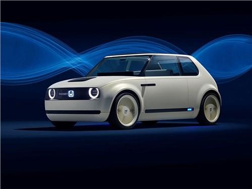 Новость про Honda - Honda Urban EV