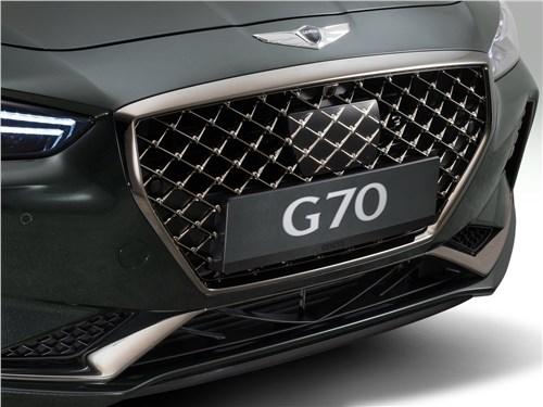 Предпросмотр genesis g70 2018 решетка радиатора