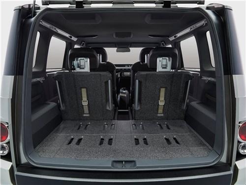 Предпросмотр toyota tj cruiser concept 2017 багажное отделение