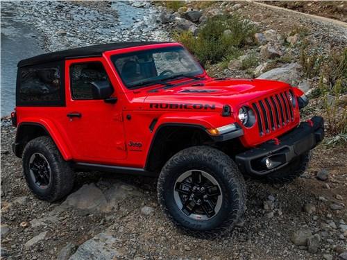 Предпросмотр jeep wrangler 2018 вид спереди сбоку