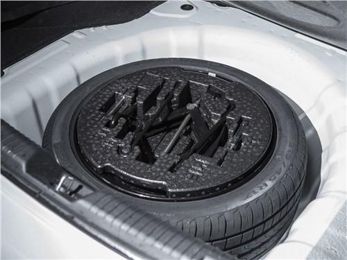 Kia Cerato 2016 запасное колесо