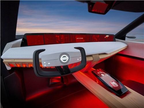 Предпросмотр nissan xmotion concept 2018 водительское место