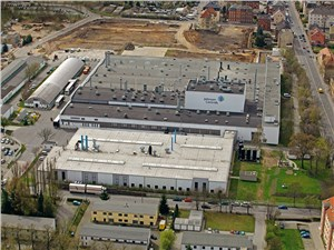 Завод Johnson Controls на юге Саксонии, в городе Цвиккау