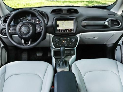 Предпросмотр jeep renegade 2019 салон