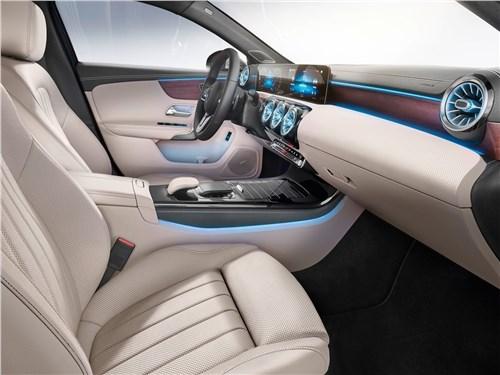 Предпросмотр mercedes-benz a-class 2019 передние кресла