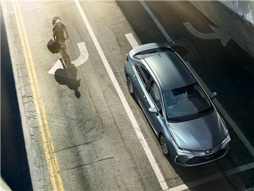 Toyota Corolla 2019 вид сверху