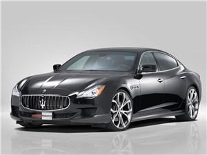 Novitec / Maserati Quattroporte вид спереди