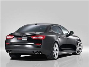 Novitec / Maserati Quattroporte вид сзади