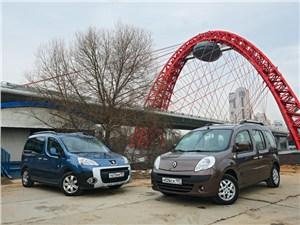 Сравнительный тест Peugeot Partner Tepee и Renault Kangoo