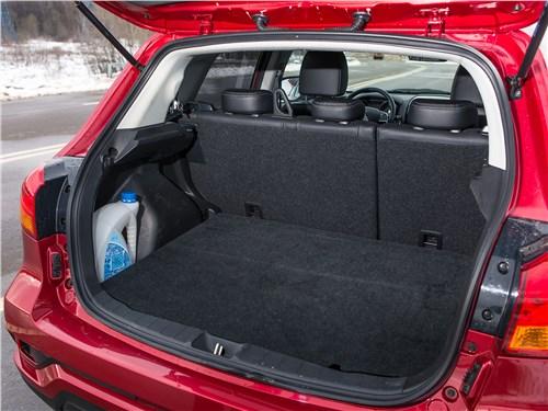 Mitsubishi ASX 2017 багажное отделение