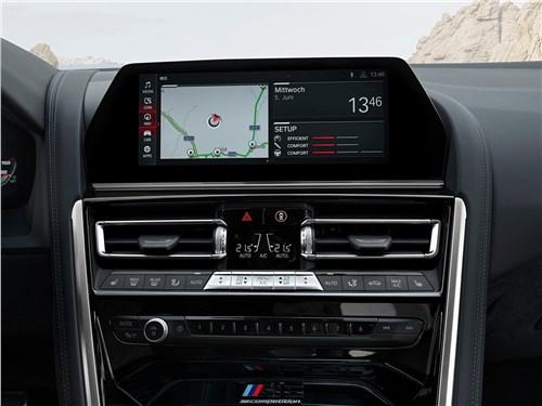 Предпросмотр bmw m8 competition coupe 2020 центральная консоль