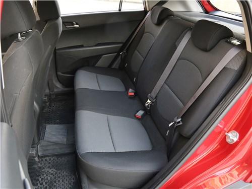 Hyundai Creta 2016 задний диван