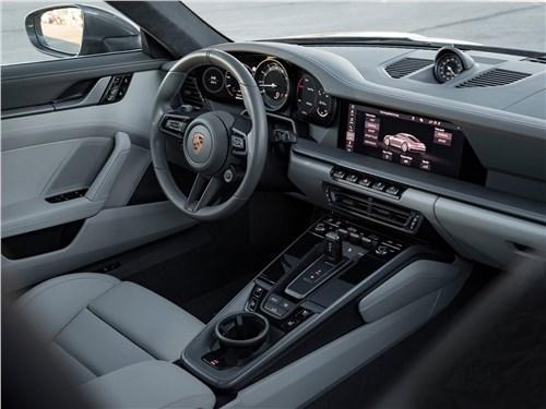Предпросмотр porsche 911 carrera 2019 салон
