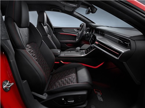 Предпросмотр audi rs7 sportback 2020 передние кресла