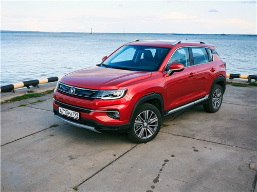 Changan CS35 Plus - changan cs35 plus 2019 вид спереди