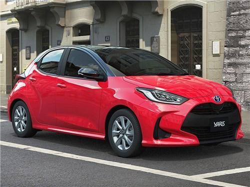 Представлена новая Toyota Yaris