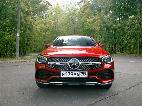 Mercedes-Benz GLC Coupe 2020 вид спереди