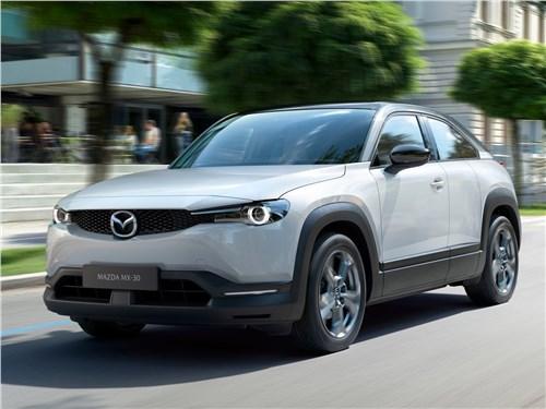 Mazda MX-30 2021 вид спереди