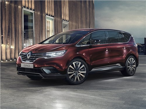 Renault Espace 2020 вид спереди