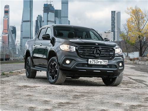 Mercedes-Benz X-Class - и черный-черный mercedes-benz x-class x 350 d 4matic at7 2018