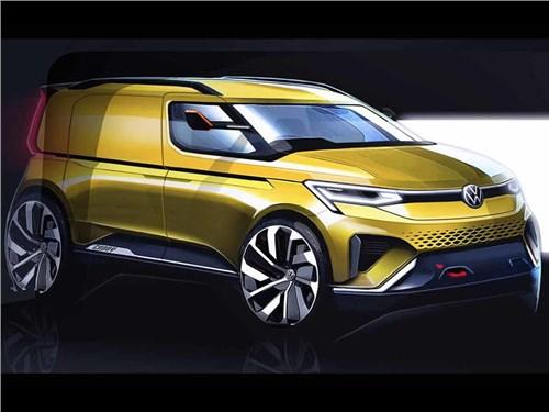Новый Volkswagen Caddy получит новый дизайн