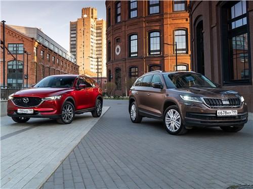 Mazda CX-5 - сравнительный тест. интрижка на стороне: модельная внешность mazda cx-5 2017 ставит под сомнение семейные ценности skoda kodiaq 2017
