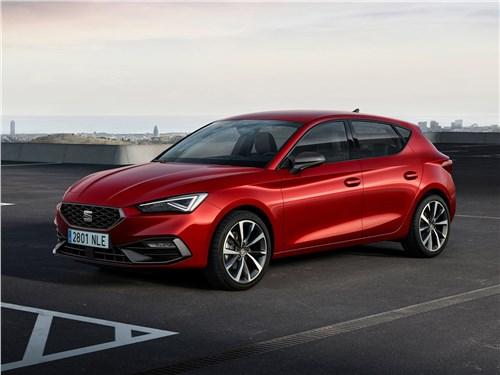 Новый SEAT Leon - Seat Leon 2020 вид спереди