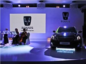 Новый Hyundai Equus - Hyundai Equus 2013 вид спереди