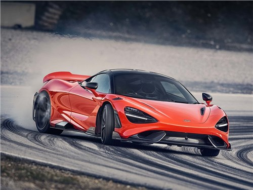 McLaren представил спорткар «с длинным хвостом»