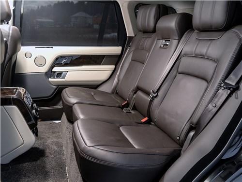 Range Rover LWB 2014 задний диван