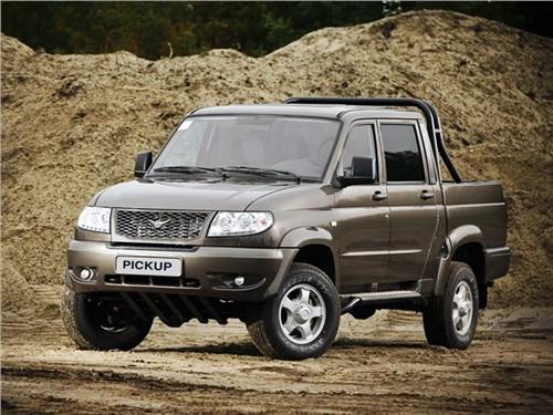 Новость про УАЗ Pickup - UAZ сертифицировал пикап с автоматом
