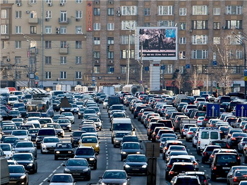 Москвичей предупредили о пробках в преддверии нерабочей недели