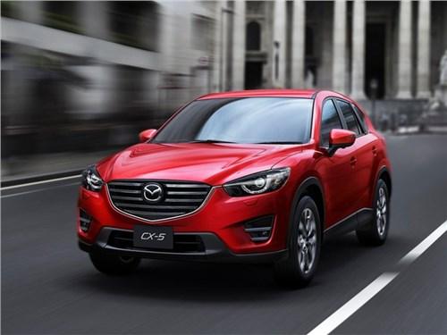 В России отзовут 9 тысяч кроссоверов Mazda из-за неисправной оптики