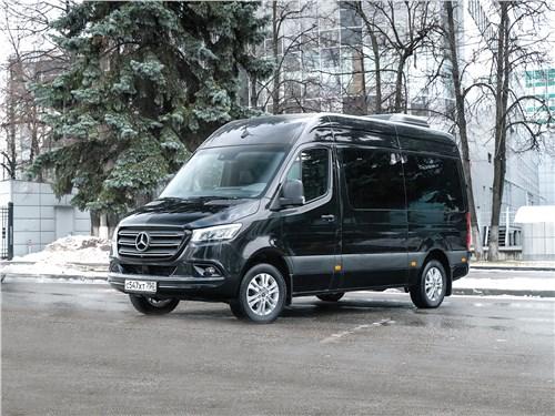 Предпросмотр mercedes-benz sprinter 2018 офис на колесах, которому уступают дорогу