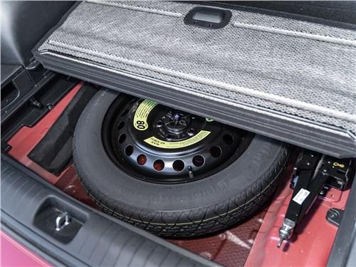 Kia Sportage 2019 запасное колесо
