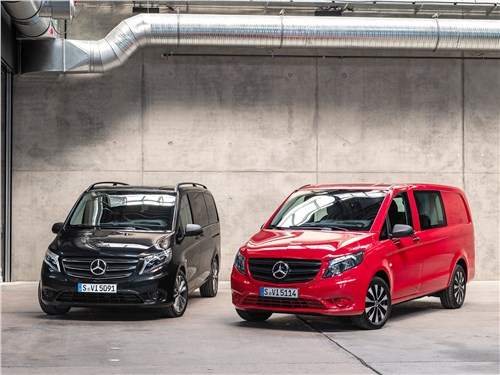 Mercedes-Benz Vito Аргументы лидера