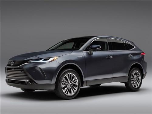 Toyota Venza 2021 вид спереди