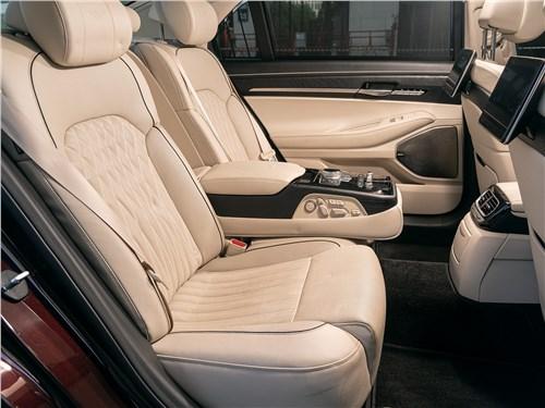 Hyundai Genesis G90 2019 задний кресла