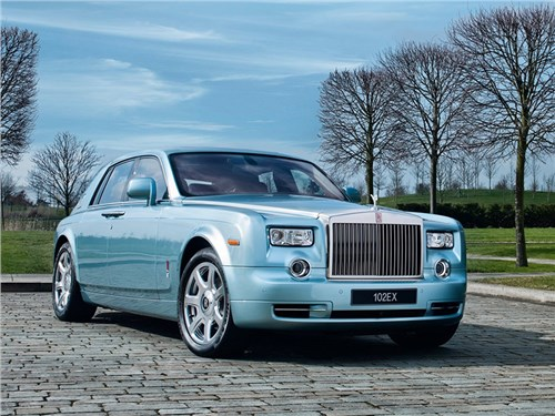 Rolls-Royce выпустит электрический Phantom